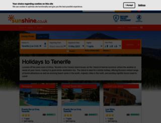 tenerife.co.uk screenshot