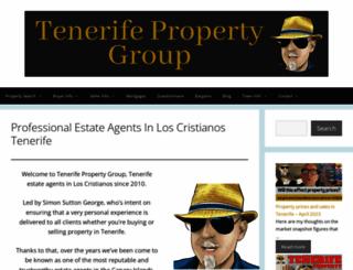 tenerifepropertygroup.com screenshot