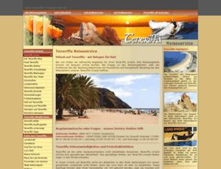 teneriffa-reiseservice.de screenshot