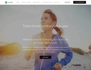 tenexhealth.com screenshot