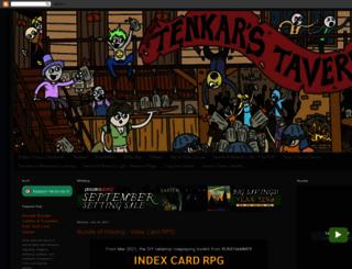 tenkarstavern.com screenshot