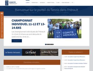 tennis34.com screenshot