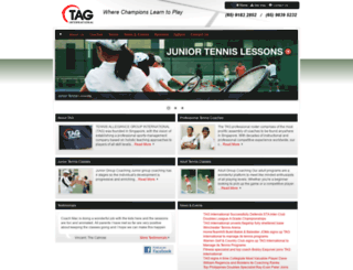 tennisallegiance.com screenshot