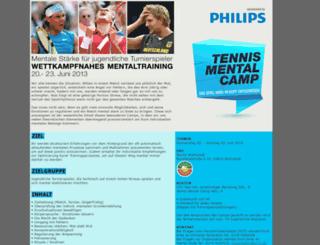 tennismentalcamp.de screenshot