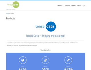 tensei-data.com screenshot