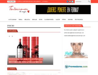 tentacionesdemujer.com screenshot