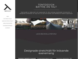 tentdesign.se screenshot
