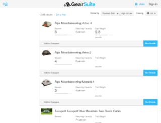 tents.gearsuite.com screenshot  sc 1 st  Accessify & Access tents.gearsuite.com. Best Tent Comparison - Compare Tents ...