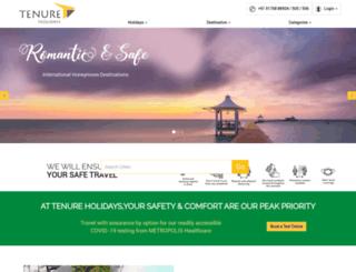 tenureholidays.com screenshot