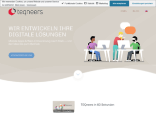 teqneers.de screenshot