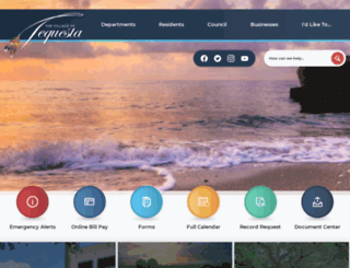 tequesta.org screenshot