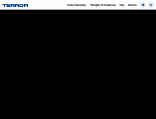 teradapump.co.jp screenshot