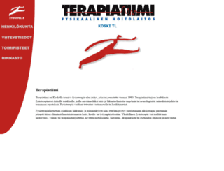 terapiatiimi.fi screenshot