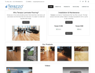 terazzo.in screenshot