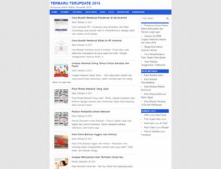 terbarux.blogspot.com screenshot