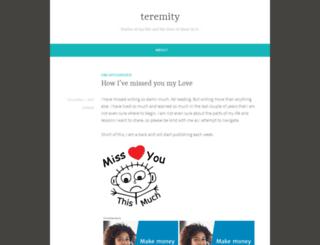 teremity.wordpress.com screenshot
