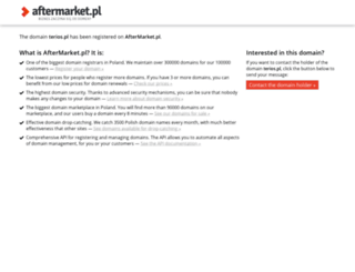 terios.pl screenshot