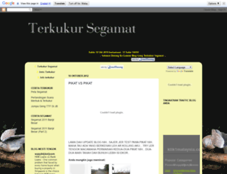 terkukursegamat.blogspot.com screenshot