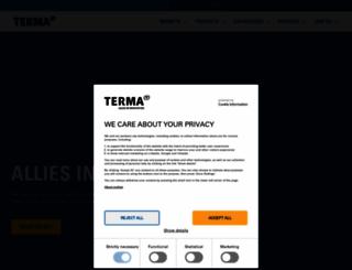 terma.com screenshot