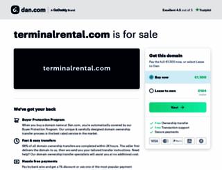 terminalrental.com screenshot