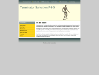 terminatorsalvationfig.com screenshot