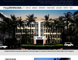 ternamedical.org screenshot
