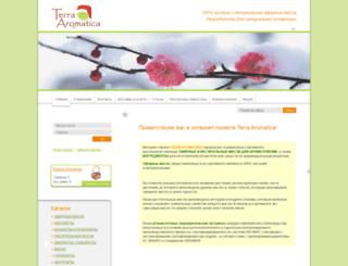 terra-aromatica.ru screenshot
