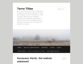 terra-tiliae.lv screenshot