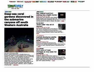 terradaily.com screenshot