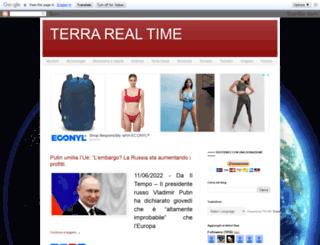 terrarealtime.blogspot.it screenshot
