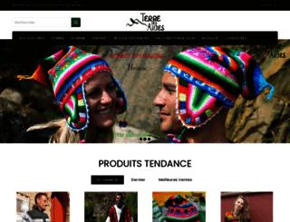 terre-des-andes.com screenshot