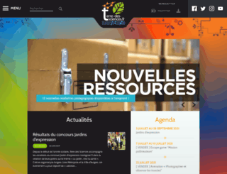 terre-des-sciences.fr screenshot