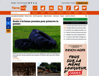 terre-net.fr screenshot
