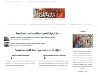 terre-pierre-et-chaux.fr screenshot