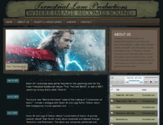 terrestriallane.com screenshot