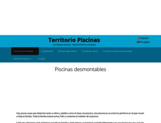 territoriopiscinas.com screenshot