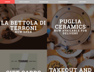 terroni.ca screenshot