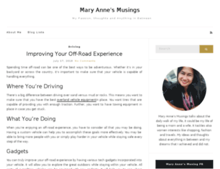 terryannemary.com screenshot