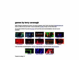 terrycavanaghgames.com screenshot