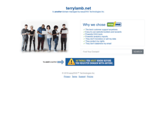 terrylamb.net screenshot