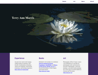 terrymorris.net screenshot