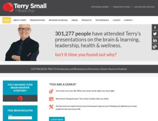 terrysmall.com screenshot