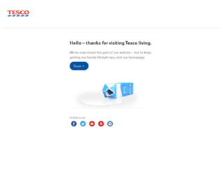 tescoliving.com screenshot