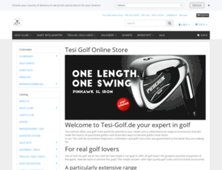 tesi-golf.de screenshot