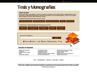 tesisymonografias.net screenshot