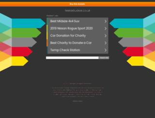 teslastudios.co.uk screenshot