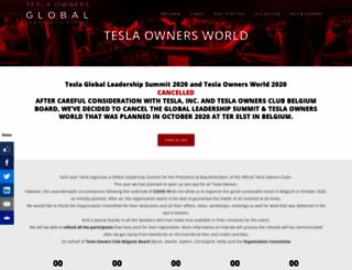 teslaworld.com screenshot