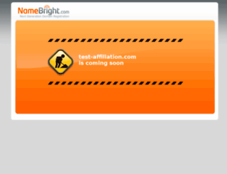 test-affiliation.com screenshot