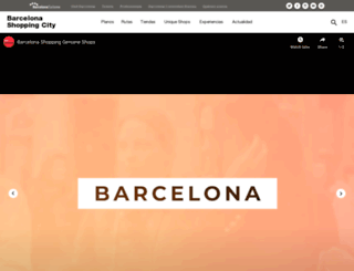 test.barcelonashoppingline.com screenshot