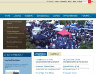 test.cityofsantamaria.org screenshot